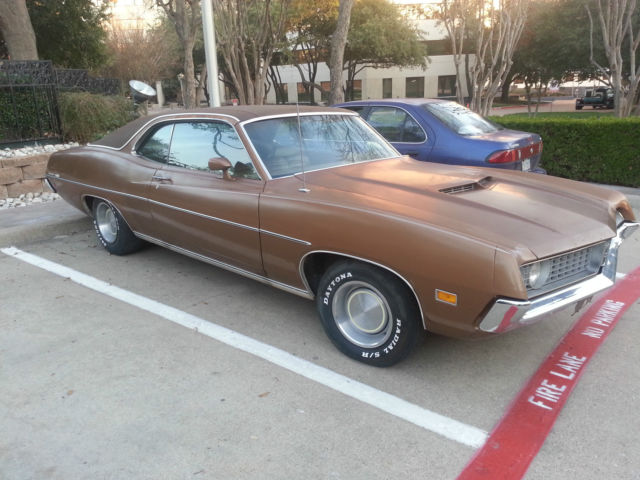 Seller of Classic Cars - 1971 Ford Torino (Brown/Brown)