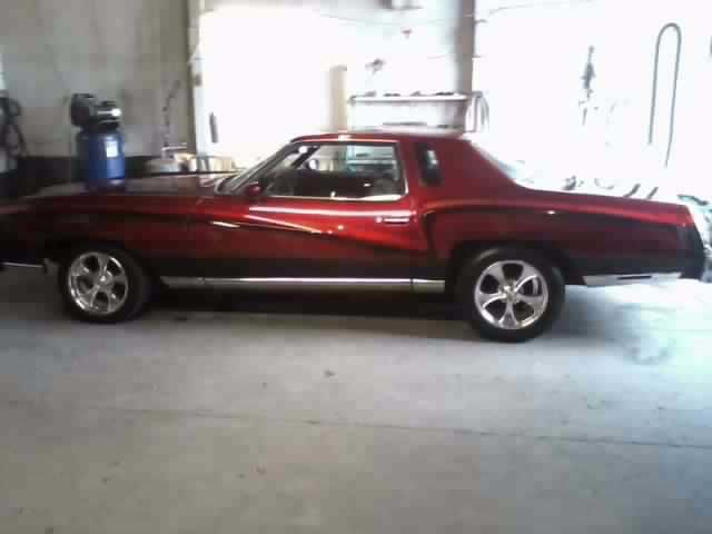 1976 Chevrolet Monte Carlo (Red/Red)