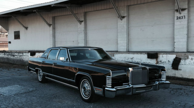 Seller Of Classic Cars 1979 Lincoln Continental Black