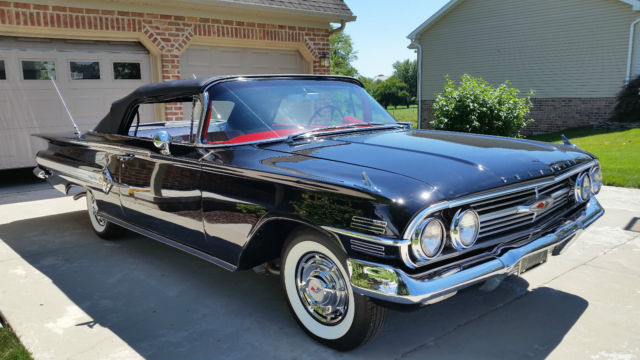 Seller Of Classic Cars 1960 Chevrolet Impala Black Red