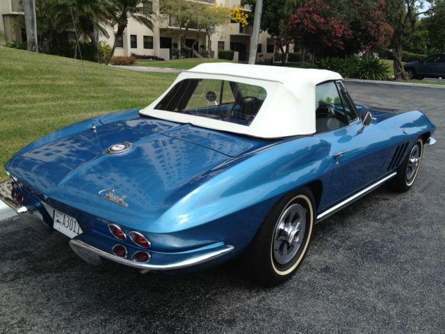 Chevrolet Dealers In Louisiana >> Seller of Classic Cars - 1965 Chevrolet Corvette (Nassau Blue/Bright Blue)