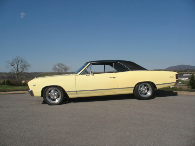2014 Chevy Malibu For Sale >> Seller of Classic Cars - 1967 Chevrolet Chevelle (Butternut Yellow with vinyl top/Black)
