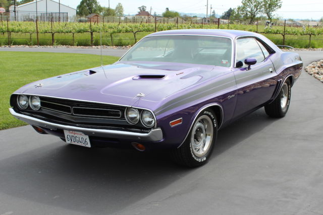 Bmw Vehicle Identification Number >> Seller of Classic Cars - 1971 Dodge Challenger (Plum Crazy Purple/Black)