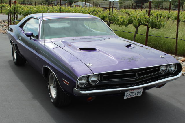 Seller Of Classic Cars 1971 Dodge Challenger Plum Crazy