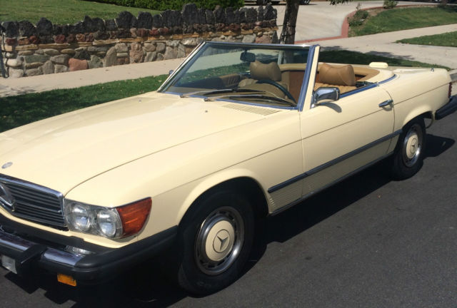 Seller Of Classic Cars 1975 Mercedes Benz Sl Class Pale