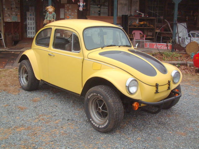 seller of classic cars 1970 volkswagen beetle classic yellow white. Black Bedroom Furniture Sets. Home Design Ideas