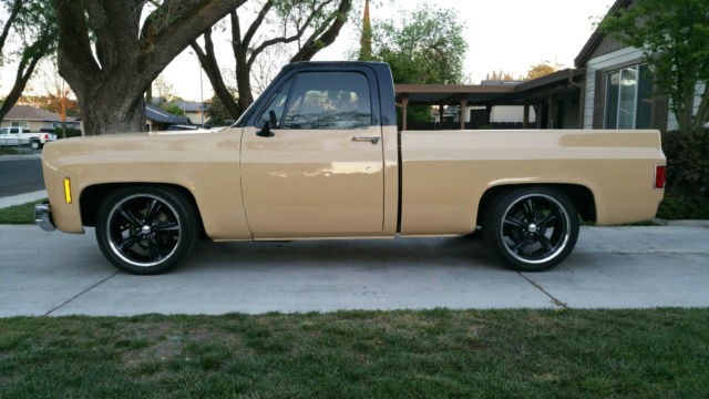 Seller Of Classic Cars 1973 Chevrolet C 10 Brown Black