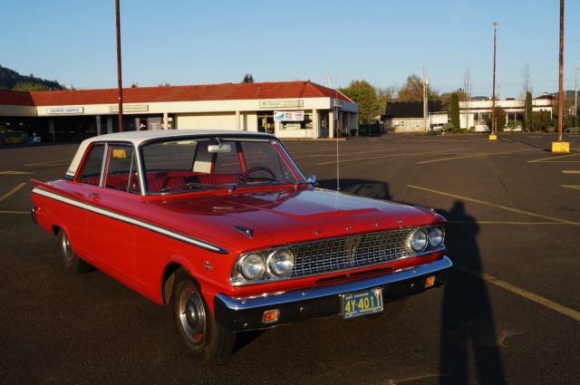 Seller of Classic Cars - 1963 Ford Fairlane (Red/Red)