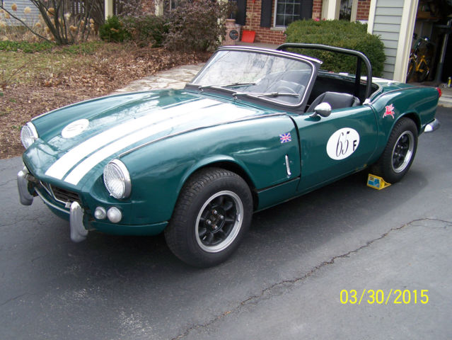 seller of classic cars 1965 triumph spitfire greenblack