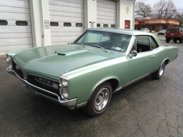 Linden Used Cars >> Seller of Classic Cars - 1967 Pontiac GTO (LINDEN GREEN ...