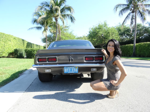 Seller Of Classic Cars 1968 Chevrolet Camaro Gray Black