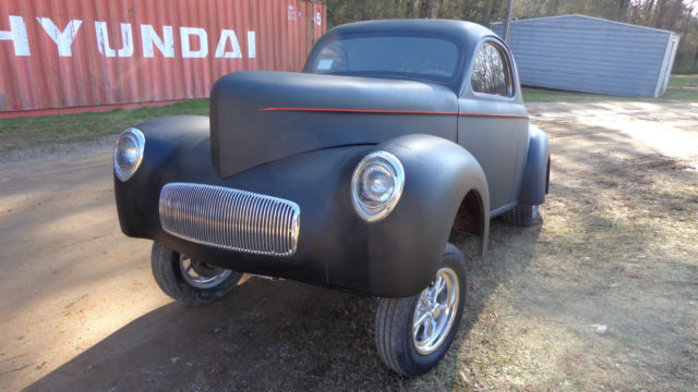 Seller of Classic Cars - 1941 Willys Falcon (Black/Gray)