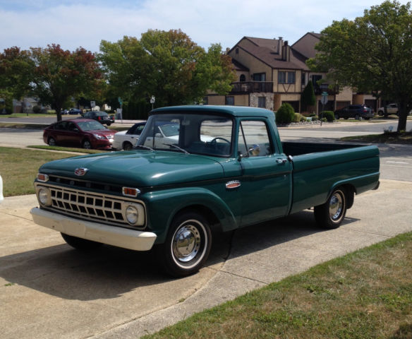 Seller Of Classic Cars 1965 Ford F 100 Green Green