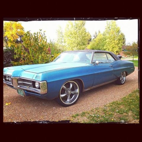 1967 Pontiac Grand Prix (Blue/Blue)