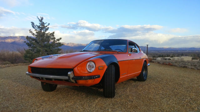 1973 Datsun Z-Series (Orange/Brown/Black)