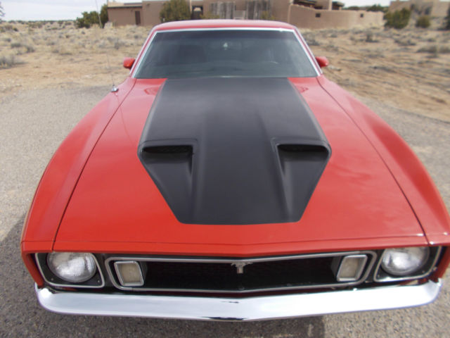 Seller of Classic Cars - 1973 Ford Mustang (Red/Black)