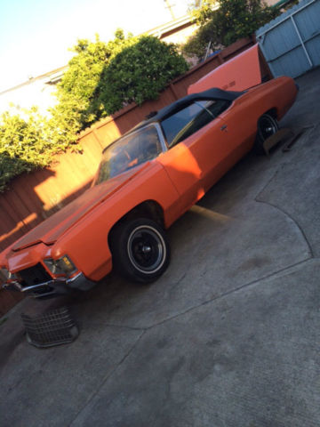 Seller Of Classic Cars 1971 Chevrolet Impala Orange Gray