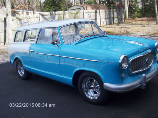 1960 Nash wagon (blue/white/turquoise/white)