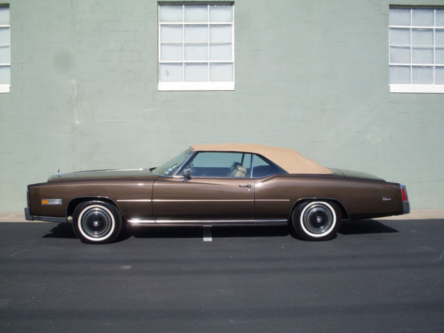 Seller Of Classic Cars 1976 Cadillac Eldorado Brown Tan