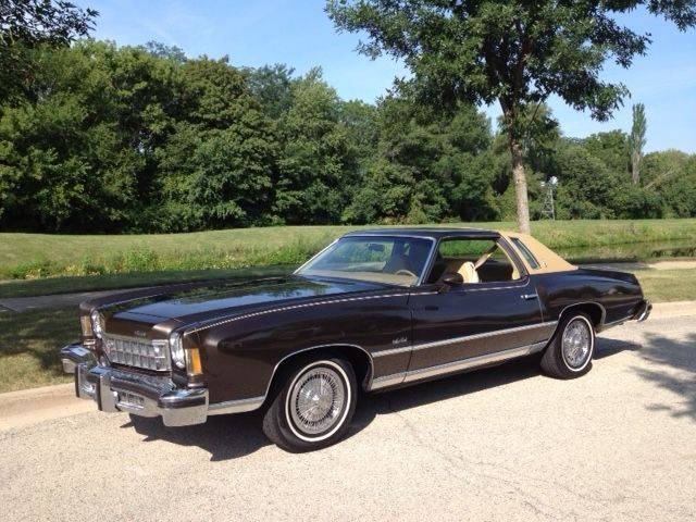 Seller of Classic Cars - 1975 Chevrolet Monte Carlo (Brown ...