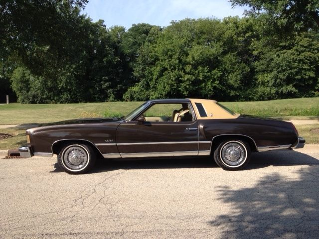 Chevy Dealers Austin Seller of Classic Cars - 1975 Chevrolet Monte Carlo (Brown ...
