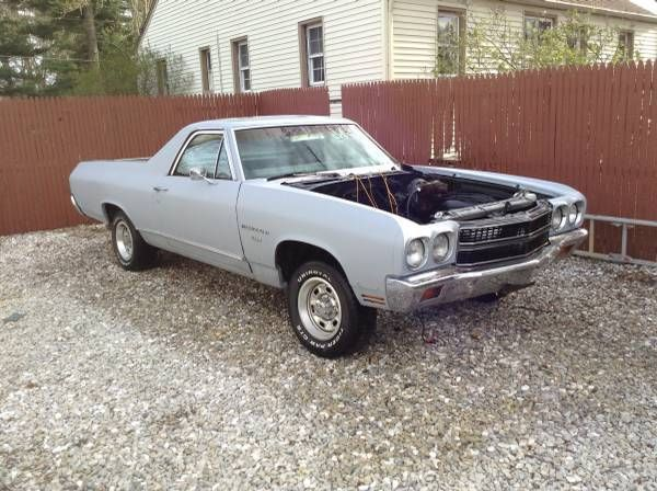 Seller Of Classic Cars 1970 Chevrolet El Camino