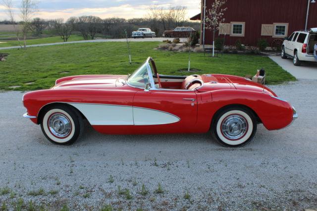 Seller Of Classic Cars 1956 Chevrolet Corvette Venetian Red Venetian Red
