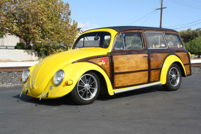 seller of classic cars 1956 volkswagen beetle classic yellow tan. Black Bedroom Furniture Sets. Home Design Ideas