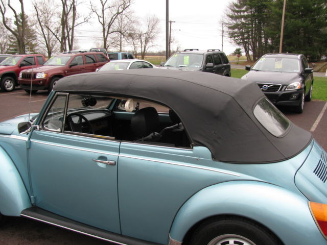 Seller of Classic Cars - 1979 Volkswagen Beetle - Classic (Florida Blue/Black)