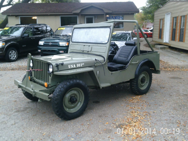 1945 Jeep 1945 Ford Army Military Jeep