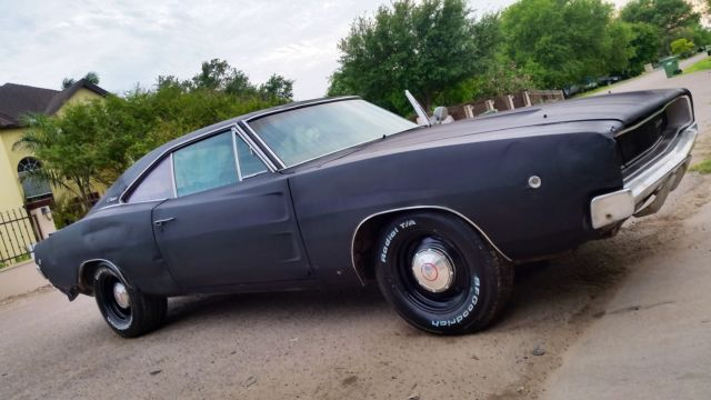 Seller Of Classic Cars 1968 Dodge Charger Black Black