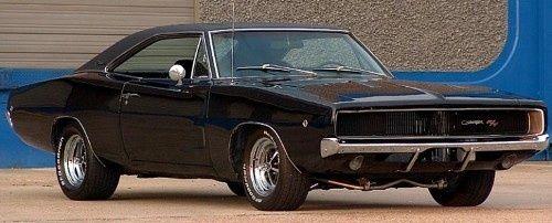seller of classic cars 1968 dodge charger black black. Black Bedroom Furniture Sets. Home Design Ideas