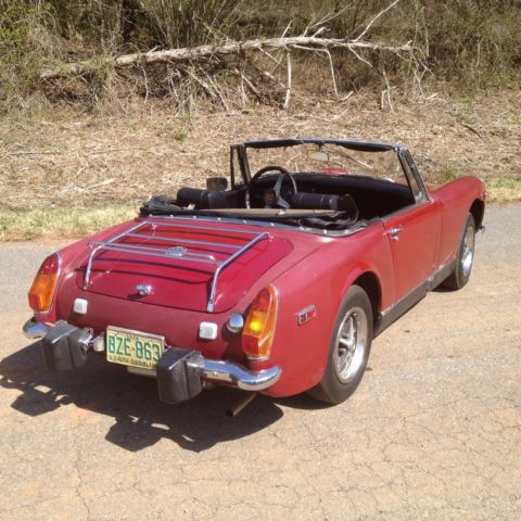 Other countries red mg midget rushed find