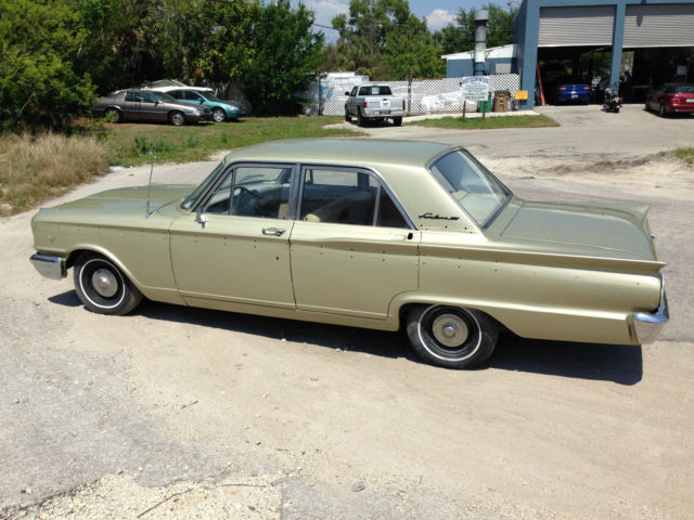 Seller of Classic Cars - 1963 Ford Fairlane (Gold/Tan)