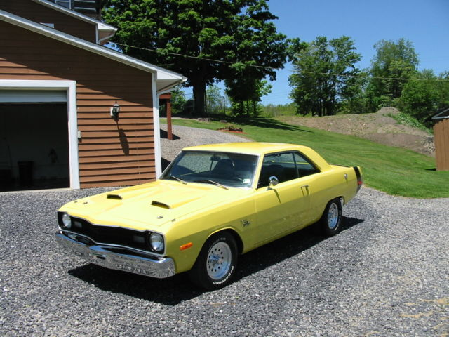 Seller Of Classic Cars 1973 Dodge Dart Yellow Black