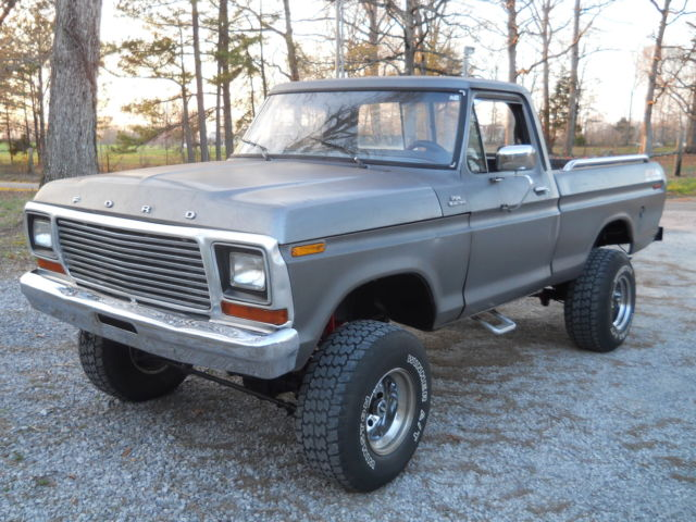 Ford F150 Grey >> Seller of Classic Cars - 1978 Ford F-150 (Gunmetal gray metallic/Gray)