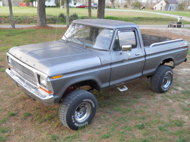 Ford Ranger Gas Mileage >> Seller of Classic Cars - 1978 Ford F-150 (Gunmetal gray