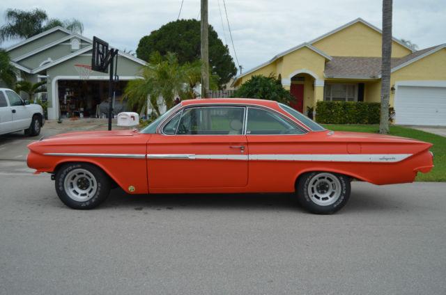 Seller Of Classic Cars 1961 Chevrolet Impala Hugger