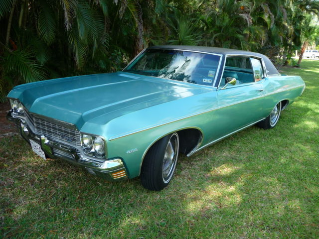 Seller Of Classic Cars 1970 Chevrolet Caprice Turquoise
