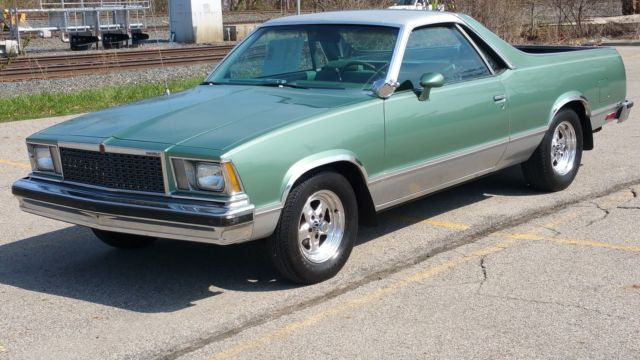 Turner Cars For Sale >> Seller of Classic Cars - 1978 Chevrolet El Camino (Green/Green)