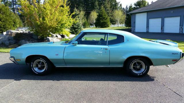 Seller Of Classic Cars 1970 Buick Skylark Aqua Black