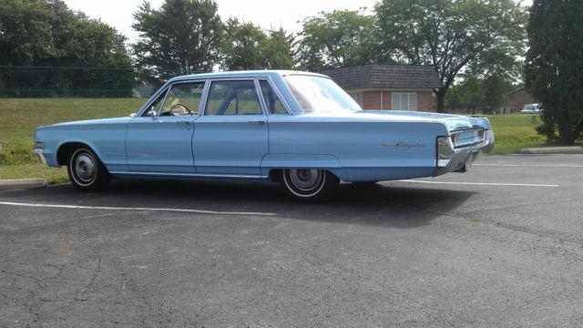 Seller of Classic Cars 1965 Chrysler Newport Blue Blue