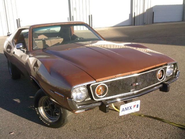 1973 AMC Javelin (Copper Tan Metallic/Black)