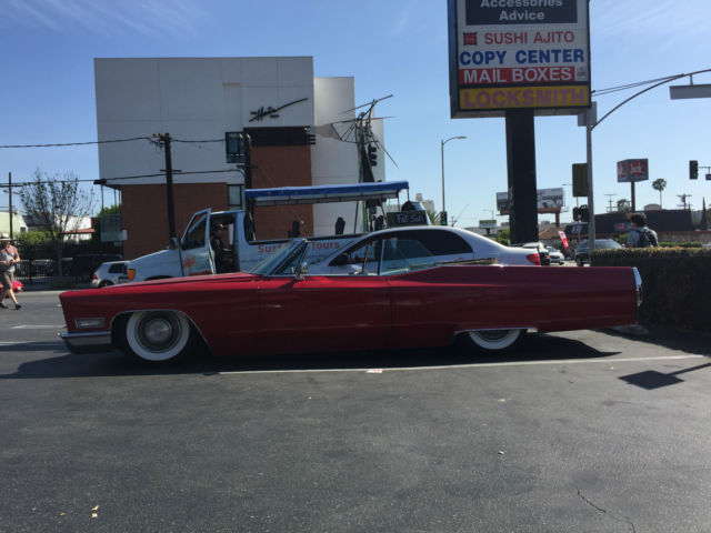 Seller Of Classic Cars 1968 Cadillac Deville Red Black