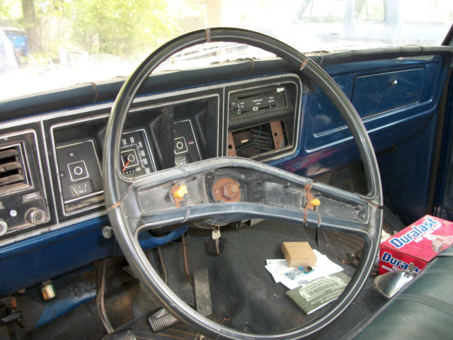 Seller Of Classic Cars 1973 Ford F 100 Blue Blue