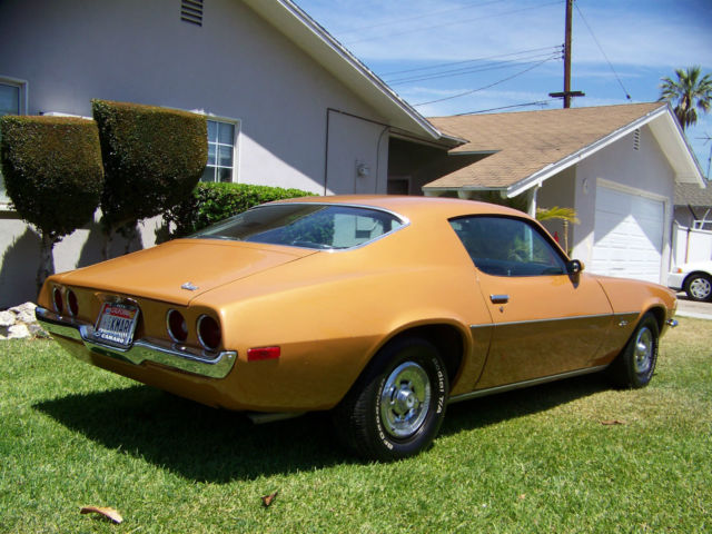 Seller Of Classic Cars 1970 Chevrolet Camaro Camaro