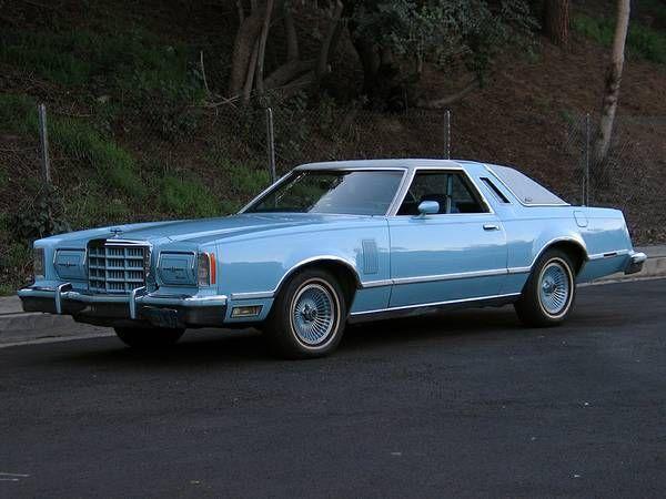 seller of classic cars 1979 ford thunderbird blue blue. Black Bedroom Furniture Sets. Home Design Ideas