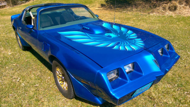 Seller Of Classic Cars 1979 Pontiac Trans Am Blue Black
