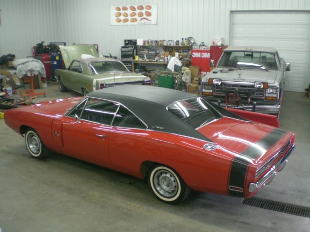 dodge red classic - photo #25