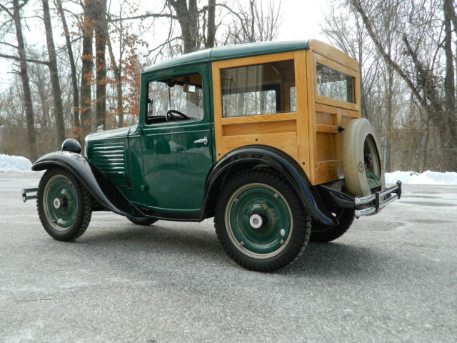 seller of classic cars 1934 austin bantam woodie green tan. Black Bedroom Furniture Sets. Home Design Ideas